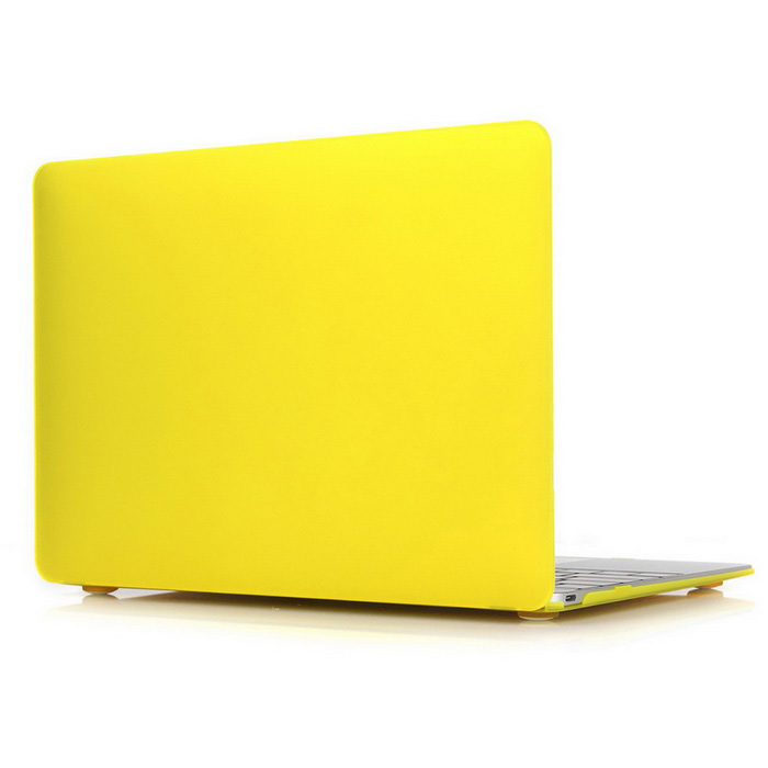 "ASLING ASL-308 Matte Hard Protective Case for MACBOOK 12"" - Yellow"