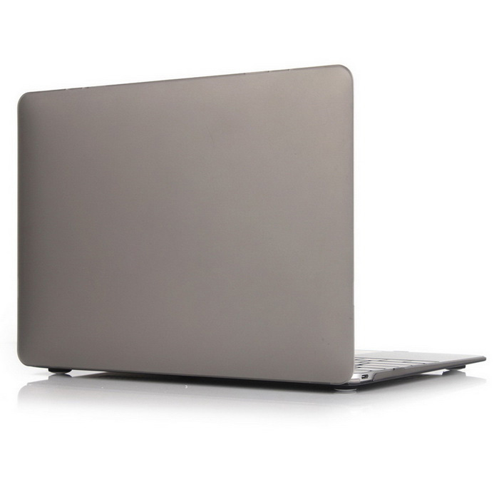 "ASLING ASL-308 Matte Hard Protective Case for MACBOOK 12"" - Grey"