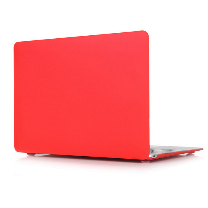 "ASLING ASL-308 Matte Hard Protective Case for MACBOOK 12"" - Red"