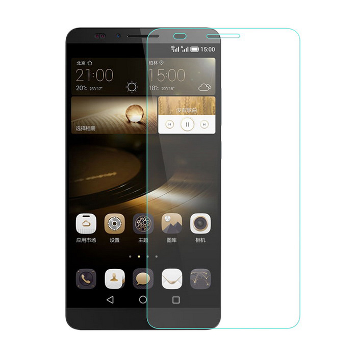Tempered Glass Screen Film for Huawei Mate7 MT7-TL00 6.0 - Transparent