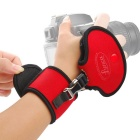 LYNCA EF2 Universal Neoprene Hand Grip Wrist Band Strap for DSLR Cameras - Red + Black