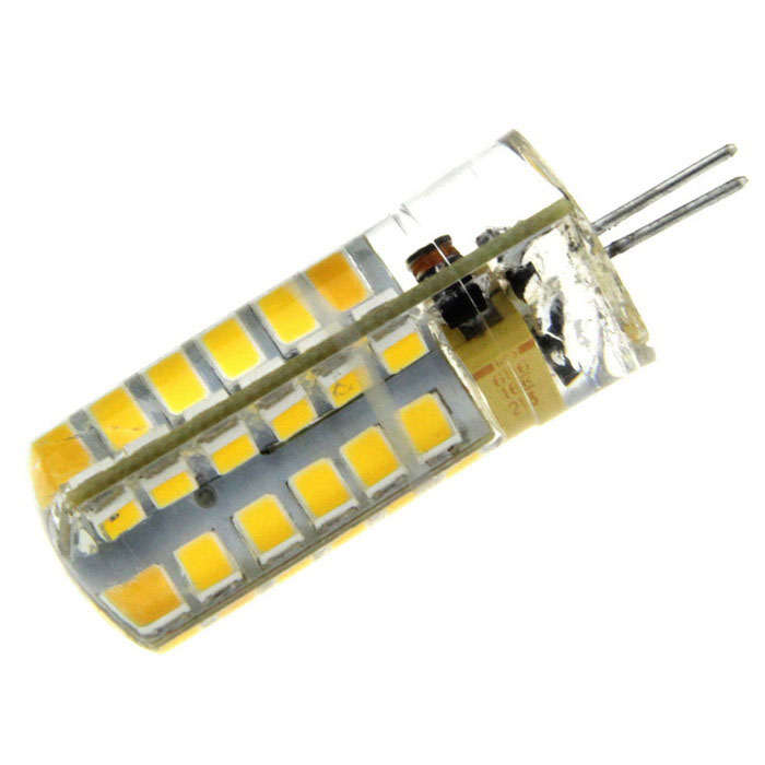 G4 3W LED Light Bulb Warm White 3000K 360lm 48-SMD 2835 (12V)