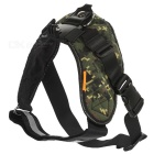 CADEN Adjustable Pet Dog Harness Chest Strap Belt Mount for GoPro Cameras - Camouflage