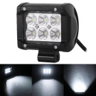 18W 6-LED 1530lm 6000K White Flood Beam LED Worklight Bar for Truck UTV 4WD Offroad (DC 10~30V)