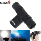 FandyFire L2 LED Cool White Light Diving Flashlight w/ Hand Strap (1x18650 / 3.6-4.2V)