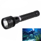 KINFIRE XM-L2 900lm Cold White Diving Flashlight w/ Hand Strap - Black