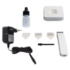 KM619 Slim Body Rechargeable Hair Trimmer Clipper for Man - White