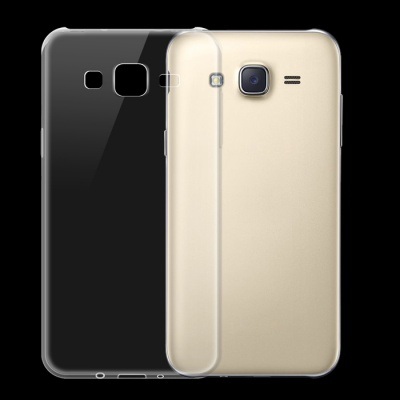 Ultra-thin TPU Back Cover Case for Samsung Galaxy J5 - Transparent