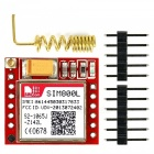 SIM800L Quad-band Network GPRS GSM Breakout Module + 3G 3DBI Spring Antenna