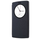 NILLKIN Protective PU Leather + PC Case w/ Auto Sleep + View Window for LG G4 Beat - Black