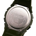 SKMEI 50m Waterproof Outdoor Sports Watch w/ Pedometer - Army Green