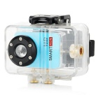Smartron Super Mini 720P HD Waterproof Action Sport Digital Video Camera - Sky Blue