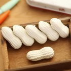 Office Stationery Realistic Peanut Eraser - White (10PCS)