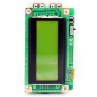 2.4 Inch LCD Dual USB Channel Current Voltage Tester USB Detector w/ Capacity Tester