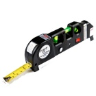 Multifunctional Laser Horizontal Vertical Measure Tape Aligner (8FT, 3 x AG13)