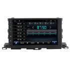 "LsqSTAR 10.2"" 1024 x 600 HD Android 4.2 Car DVD Player w/ GPS Wi-Fi Mirrorlink for Toyota Highlander"