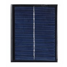 DIY 1.5W 6V Polysilicon Solar Panel - Black + Blue