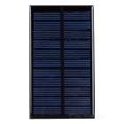 DIY 1.6W 6V Polysilicon Solar Panel - Black + Blue