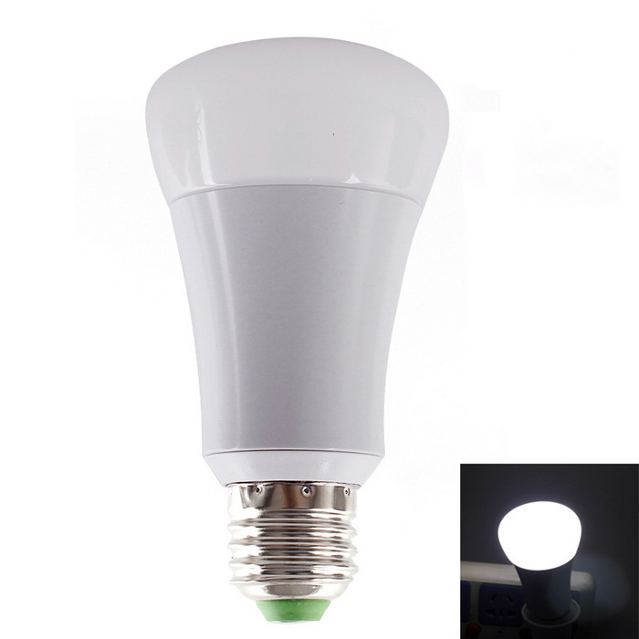 JOYDA E27 6W dimmable 500lm 6500K 30-LED bulbo w / wi-fi 2.4G remoto