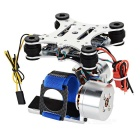 Adjustment-Free 2D 2-Axis Brushless Camera Mount Gimbal for Hawkeye / GoPro / HD19 / SJ4000 - Silver
