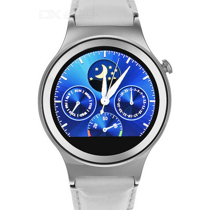 "NO.1 S3 MTK2502 SIM/TF Card Supported Smart Watch Phone w/ 1.22"" IPS, Heart Rate Monitor, Smart Wake"