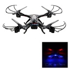 KAIDENG K60 2.4GHz 6-CH R/C Quadcopter w/ 1.0MP Camera, 6-Axis Gyro, Headless Function - Black