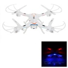 KAIDENG K60 2.4GHz 6-CH R/C Quadcopter w/ 1.0MP Camera, 6-axis Gyro, Headless Function - White