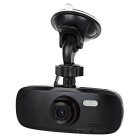 "2.7"" 140' Wide Angle 3.0MP Anti-Shake Car DVR w/ Motion Detection, Loop Record, Mic. - Black"