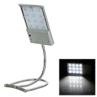 JLDT-14111 Multifunctional Solar Powered 12-LED Outdoor Lamp Neutral White
