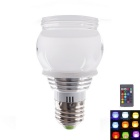JOYDA-SD9031 E27 3W RGB LED 16-Color Changing Bulb w/ Remote Controller - White (AC 85-265V )
