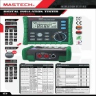MASTECH MS5203 10Gohm 1000V Digital Insulation Resistance Multimeter