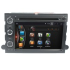 "LsqSTAR 7"" HD Android 4.4 Car DVD Player w/GPS WiFi BT for Ford Fusion Explorer F150 Edge Expedition"