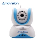 Amovision Patron QF509R 1/4 CMOS 1.0MP Alarm IP Camera w/ 11-IR-LED / Wi-Fi (US Plug)