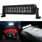Flood 72W 6120lm 6000K 24-LED White Light Offroad Car Light Bar Working Lamp SUV (10-30V)