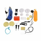 Gopro Accessories Kit for Gopro Hero 3+ / 3 / 2/ 1 in Swimming, Rowing, Surfing, Diving Water Sports