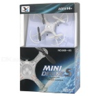 YUXIANG A5 4-CH 6-Eje 2.4GHz RC mini quadcopter - blanco
