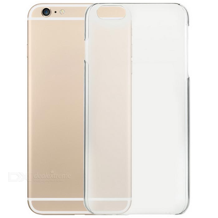 Protective Plastic Back Case for IPHONE 6S Plus - Transparent