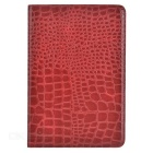 Alligator Pattern Protective Case w/ Stand for IPAD MINI 4 - Dark Red