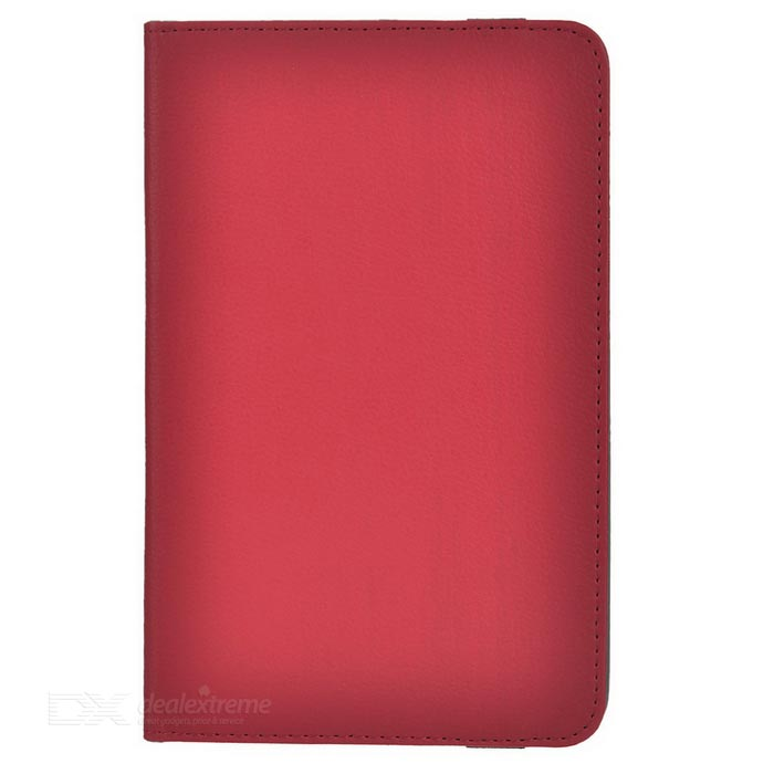 "Protective Full Body Case Cover w/ Stand for 7"" Tablet PC - Red"