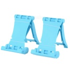 Universal Creative Sports Car Style Phone Holder Stand - Blue (2 PCS)