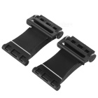 Universal Creative Sports Car Style Phone Holder Stand - Black (2PCS)