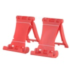 Universal Creative Sports Car Style Phone Holder Stand - Red (2 PCS)