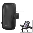 Dulisimai Waterproof Bike Mount Phone Bag Holder for IPHONE 6S - Black