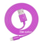 Yellowknife 8pin Lightning to USB Data Cable - Purple (2PCS, 1m)