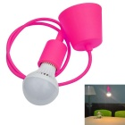 JIAWEN E27 7W LED Droplight 3000-3200K 560lm 14-5730 SMD Warm white / Lamp Base - Pink  (AC 85~265V)