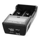 "Xtar VC2 Plus 2-Slot USB Charger w/ 2"" LCD for Ni-MH / Li-ion Battery"