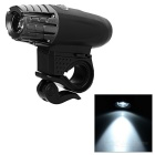 Mountain Bike Cycling White Light 4-Mode LED Lamp - Black