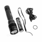 Xtar RC1 18650 Flashlight Darkwalker USB Rechargeable Torch - Black