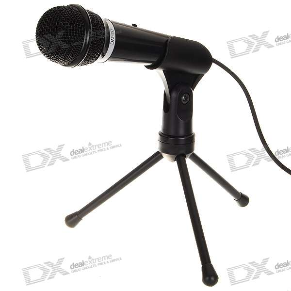 DICSONG DM-10 Condenser Microphone with Tripod