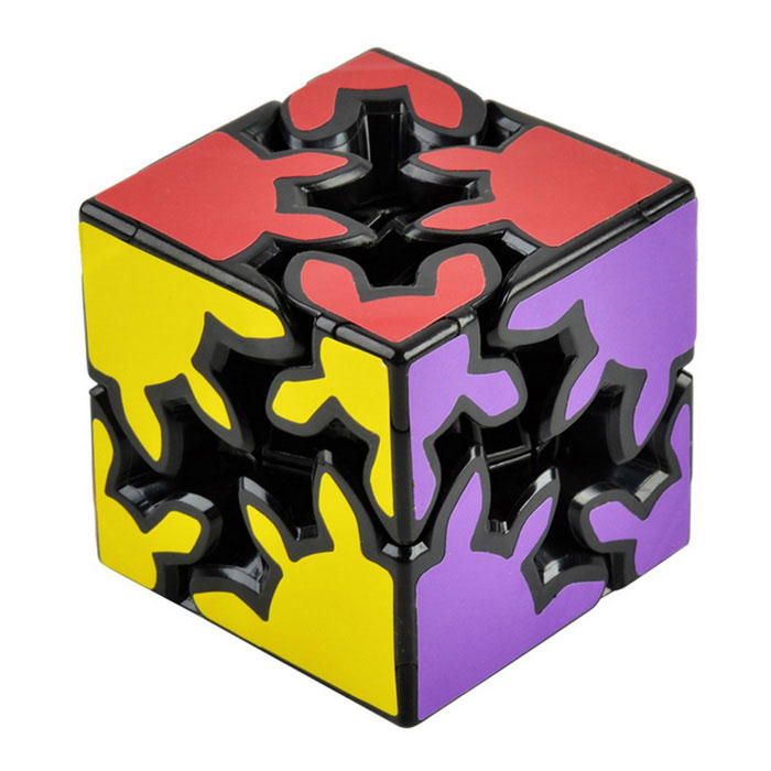 6cm Gear Magic Cube - Black +